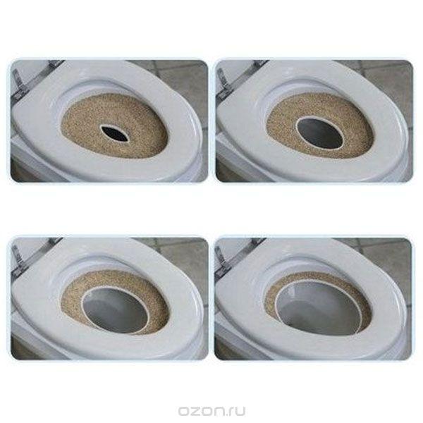 Насадка на унитаз для приучения кота к туалету