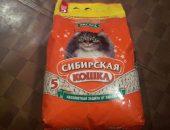 большой пакет наполнителя Сибирская кошка