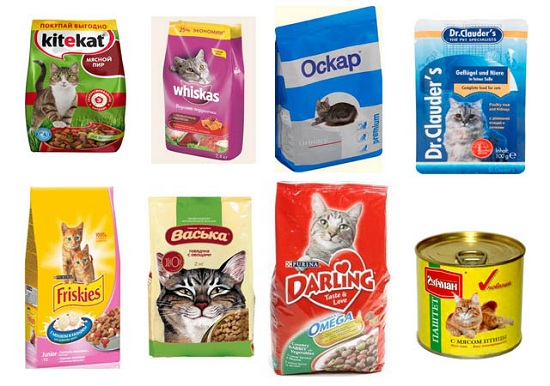 Дешёвые кошачьи корма