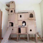 Дом-дракон для кошки