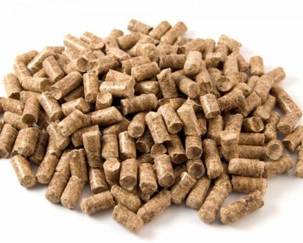 древесные гранулы для кошачьего туалета