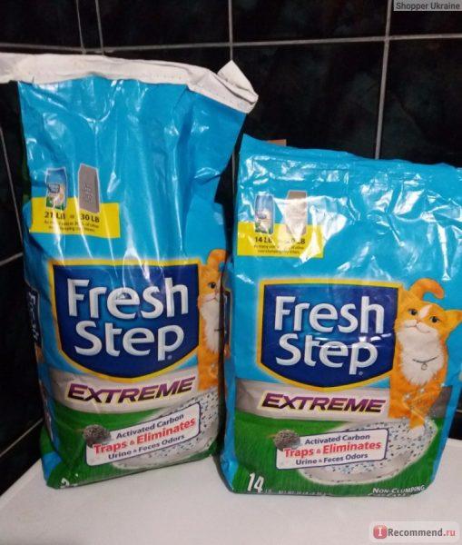 Fresh Step с тройным контролем запахов