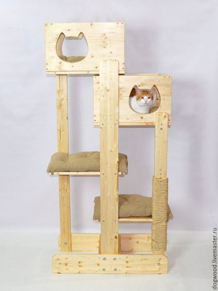 Игровой комплекс для кошек