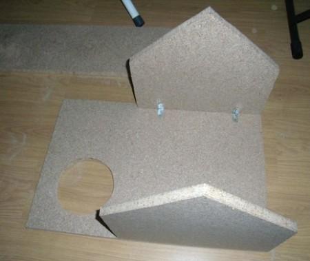 Игровой комплекс для кошки. Шаг 10