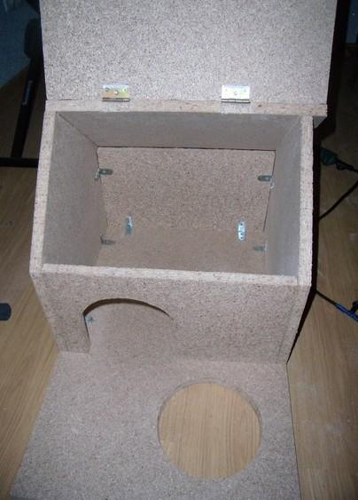 Игровой комплекс для кошки. Шаг 11