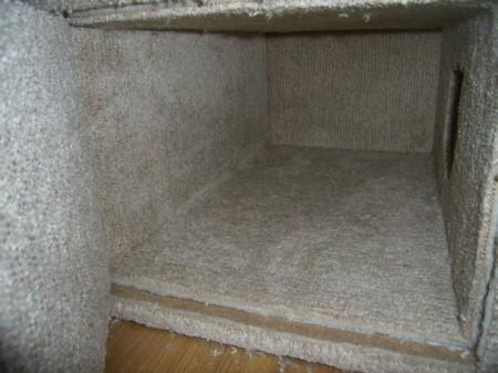 Игровой комплекс для кошки. Шаг 15. Изнутри