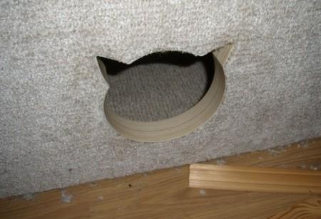 Игровой комплекс для кошки. Шаг 16