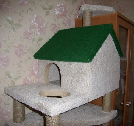 Игровой комплекс для кошки. Шаг 17