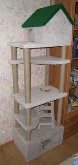 Игровой комплекс для кошки