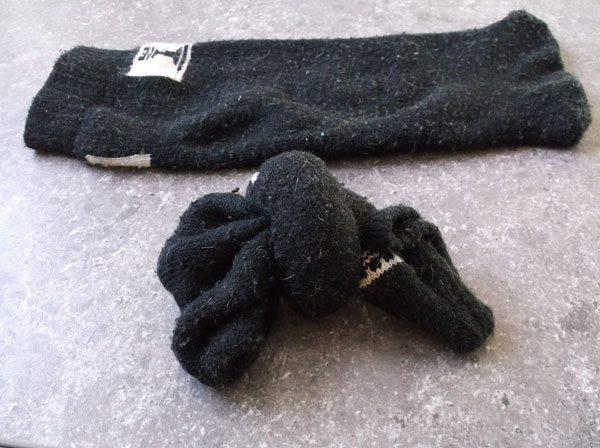 Игрушка из носка