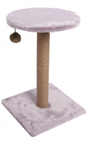 Когтеточка-столбик с полочкой