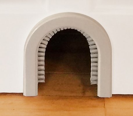 Лаз для кошки в форме арки