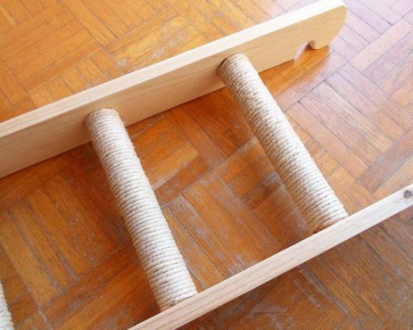 Лестница для кошачьего комплекса