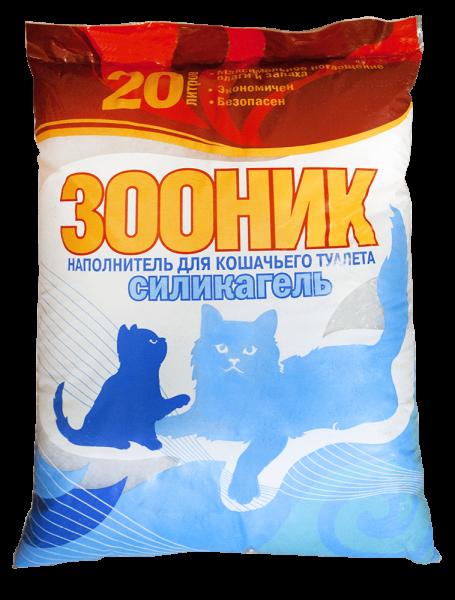 двадцатилитровый пакет силикагелевого наполнителя
