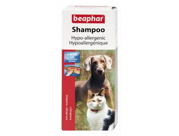Противоаллергенный шампунь для животных