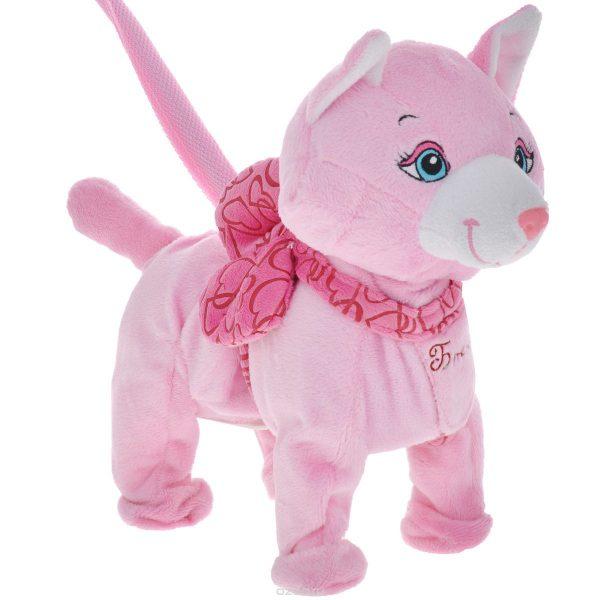 Розовая игрушка «Кошка Бонни»
