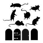 шаблон «мышки»