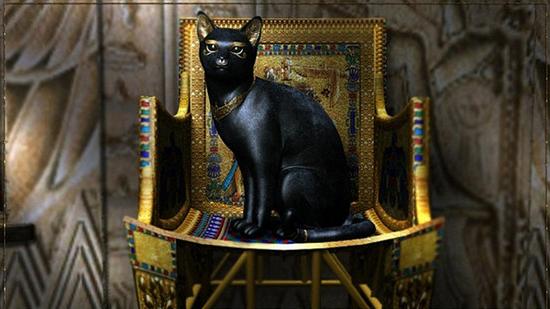 Статуэтка «Кошка на кресле»