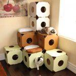 Угловой дом для кошек