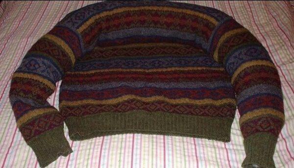 Заготовка из свитера 1