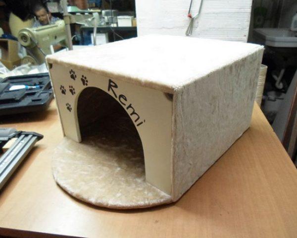 Заготовка кошачьего домика