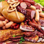 Колбасы, сосиски, грудинка