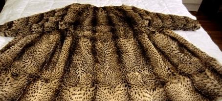 Меховая шуба