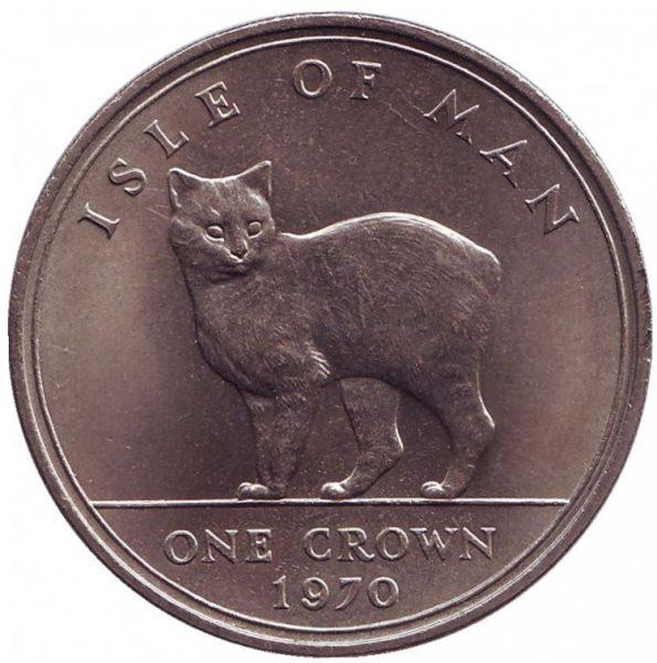 Монета с острова Мэн