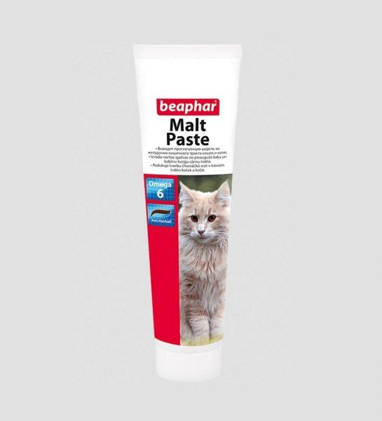 Паста для выведения шерсти у кошек