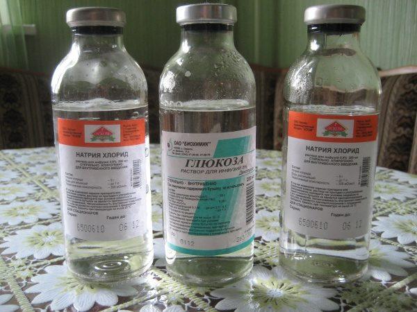 глюкоза и физраствор