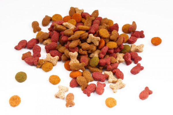 гранулы сухого корма для кошек