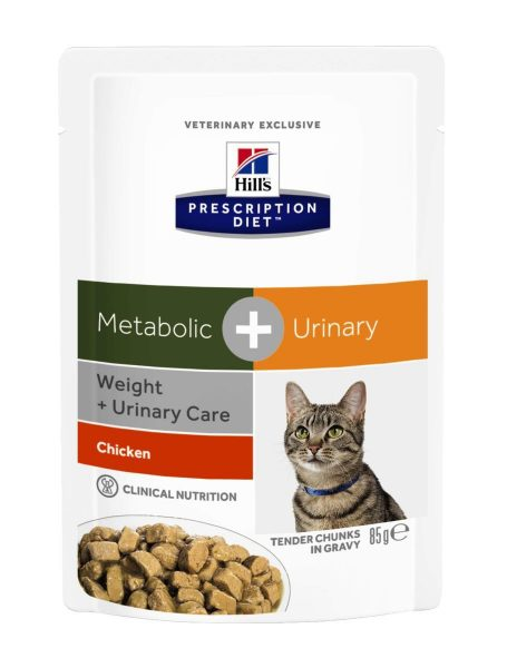 Hill'sTM Prescription DietTM Metabolic   Urinary Feline Курица