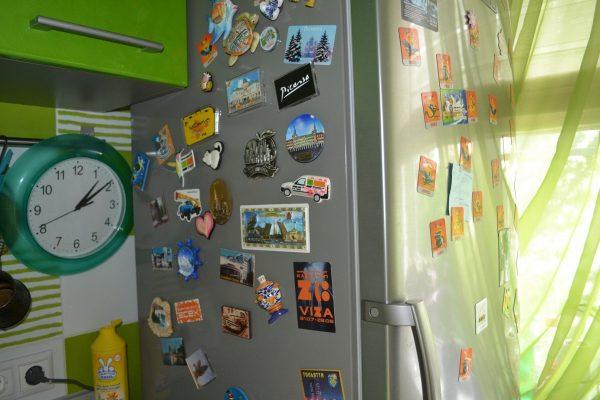 Холодильник в магнитах