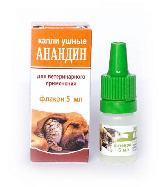 Капли ушные Анандин