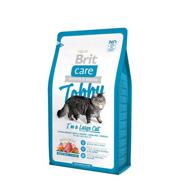 Сухой корм Brit Care Cat Tobby для кошек крупных пород