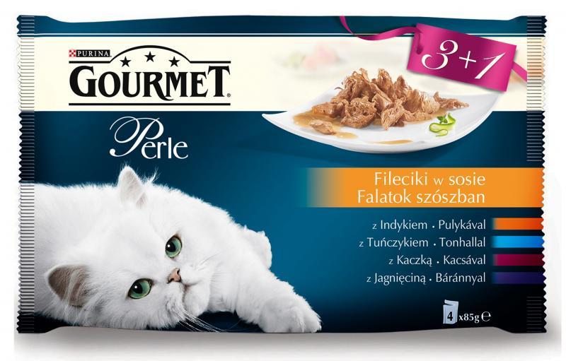 Полный обзор корма «Гурмэ» для кошек