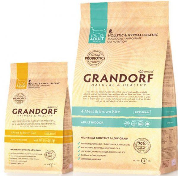 Сухой корм для кошек «Грандорф»