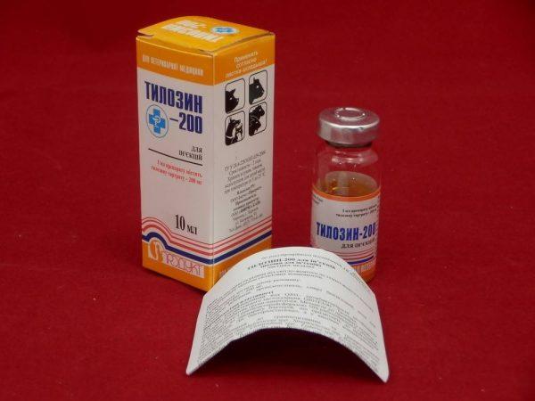 тилозин в оранжевой коробке