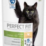 Корм «Перфект Фит» для кошек старше семи лет