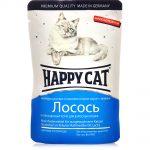 Корм влажный Happy Cat