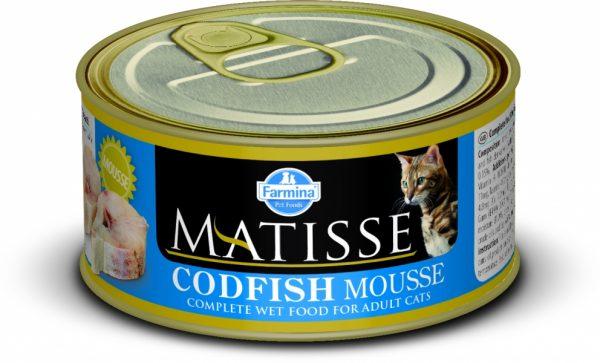 Мусс с треской бренда «Матисс»