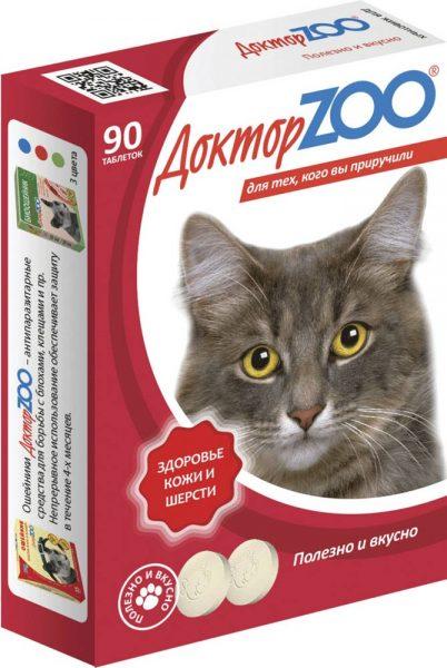 Упаковка витаминов «Доктор ZOO»