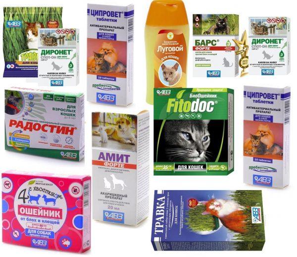 Препараты, созданные «Агроветзащитой»