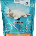 Purina One сухой корм для взрослых кошек