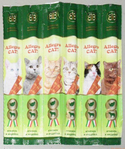 Мясные колбаски B&B Allegro Cat