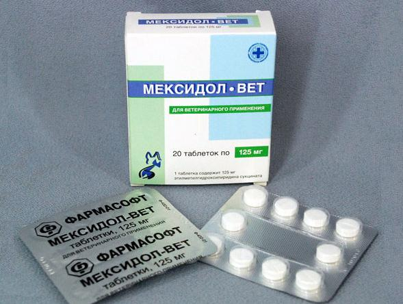 Мексидол-Вет в таблетках