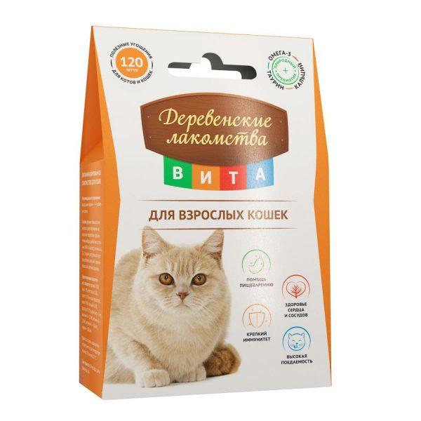 Деликатесы для кошек «Деревенские лакомства»