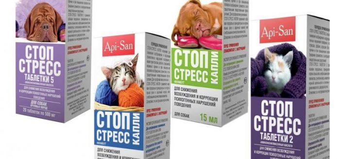 Стоп-стресс для кошек и собак