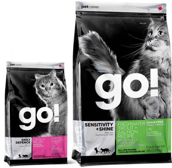 Упаковка корма «Гоу» для кошек