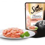 Sheba Pleasure с форелью и креветками